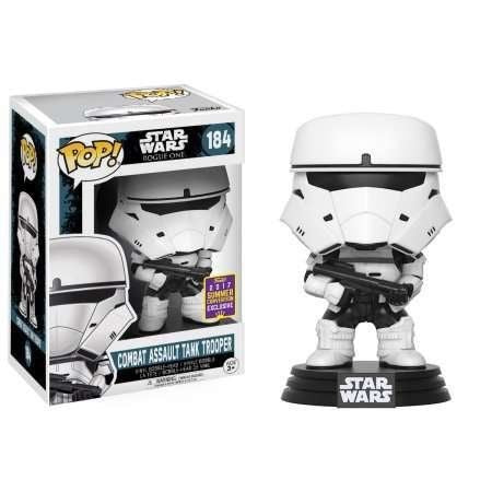Funko Pop Figure Combat Assault Tank Trooper #184 2017 Summer Exclusive