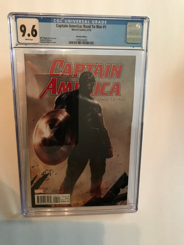 CAPTAIN AMERICA ROAD TO WAR VARIANT