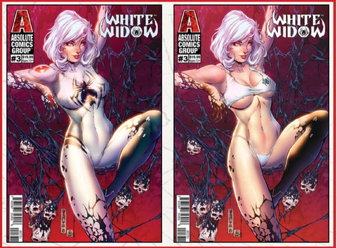 White Widow #3 Bones Retail Edition Lenticular