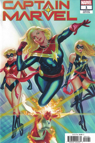 Captain Marvel 1 Ratio Variant 1:50 Alex Ross