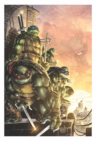 TMNT ONGOING #100 10 COPY INCV SANTOLOUCO