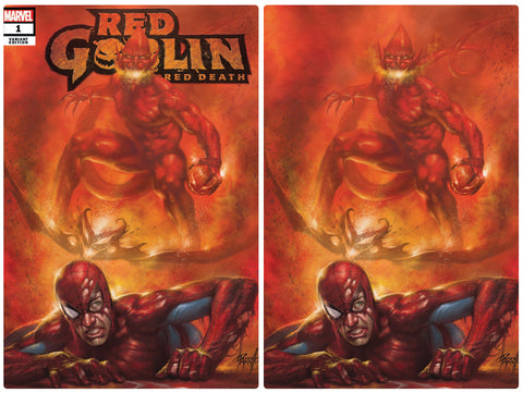 Red Goblin Red Death #1 Lucio Parrillo Virgin Set