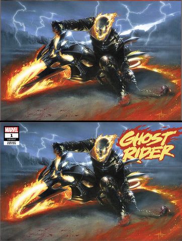 Ghost Rider #1 Gabriele Dell'Otto Trade Variant Set