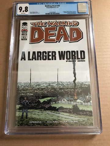 THE WALKING DEAD (A Larger World Part 1) CGC 9.8