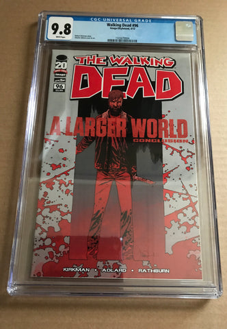 THE WALKING DEAD (A Larger World Conclusion) CGC 9.8