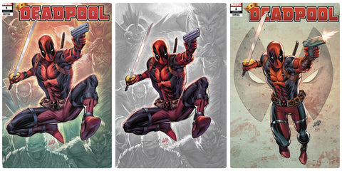 Deadpool #1 Rob Liefeld Creations Variant Set 3 Pack
