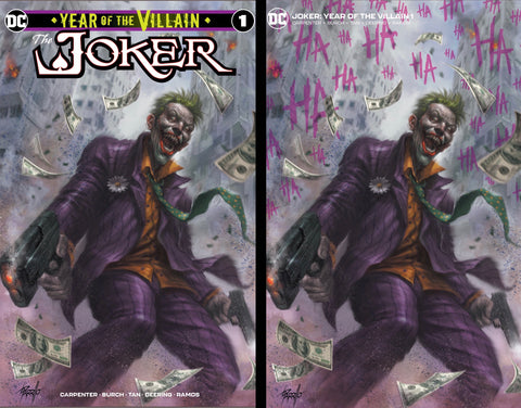 The Joker #1 Lucio Parrillo Trade Variant Set