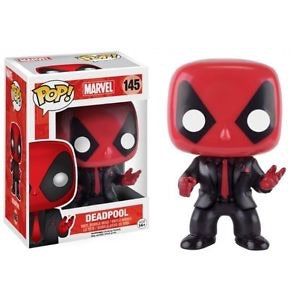 Funko Pop Figure #145 Marvel Deadpool Black Suit