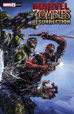 Marvel Zombies Resurrection #1 Clayton Crain Virgin Variant Set