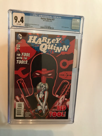 HARLEY QUINN THE FOOL WITH THE RED TOOLS 6/16