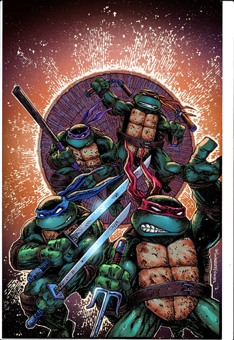 TMNT ONGOING #100 50 COPY INCV LAIRD & EASTMAN