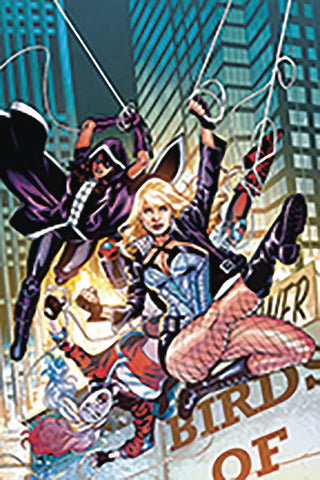 DF BIRDS OF PREY #1 SGN AZZARELLO