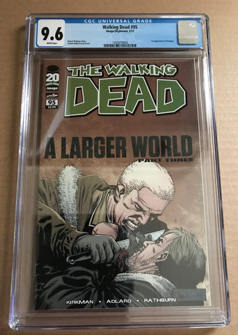 THE WALKING DEAD (A Larger World Part 3) CGC 9.6