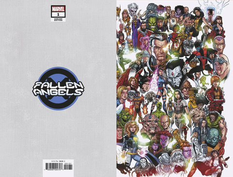 FALLEN ANGELS #1 BAGLEY EVERY MUTANT EVER VARIANT DX