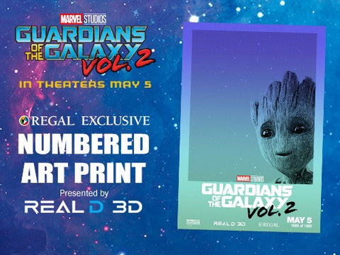 Guardians of the Galaxy Vol. 2 13 x 19 Movie Poster