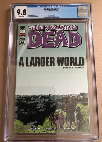 THE WALKING DEAD (A Larger World Part 2) CGC 9.8