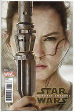 Star Wars The Force Awakens Adaptation #6 Marvel Rey Photo Variant Cover