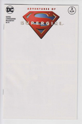 Adventures Of Supergirl #3 Blank Sketch Variant