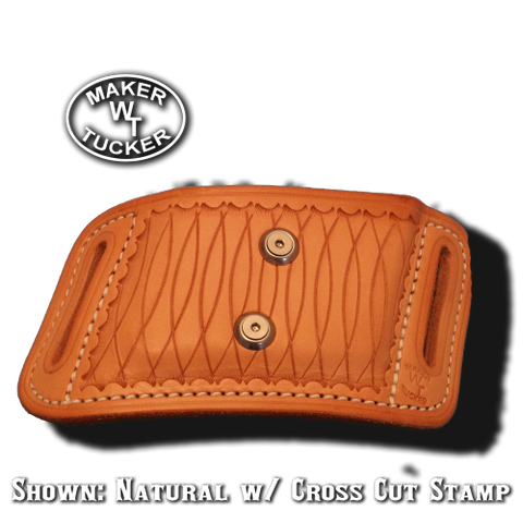 double angled mag pouch by Tucker Leather
