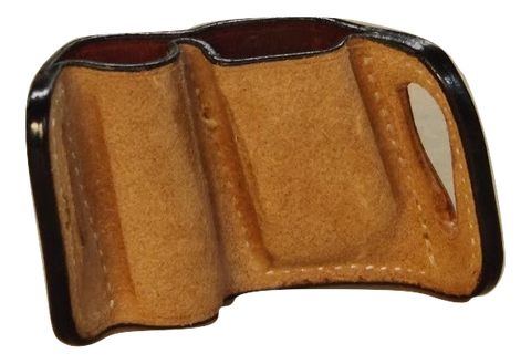 flashlight and mag pouch by Tucker Leather