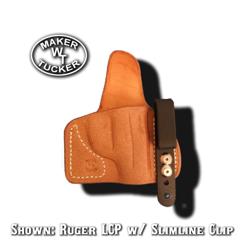 mini IWB holster by Tucker Leather