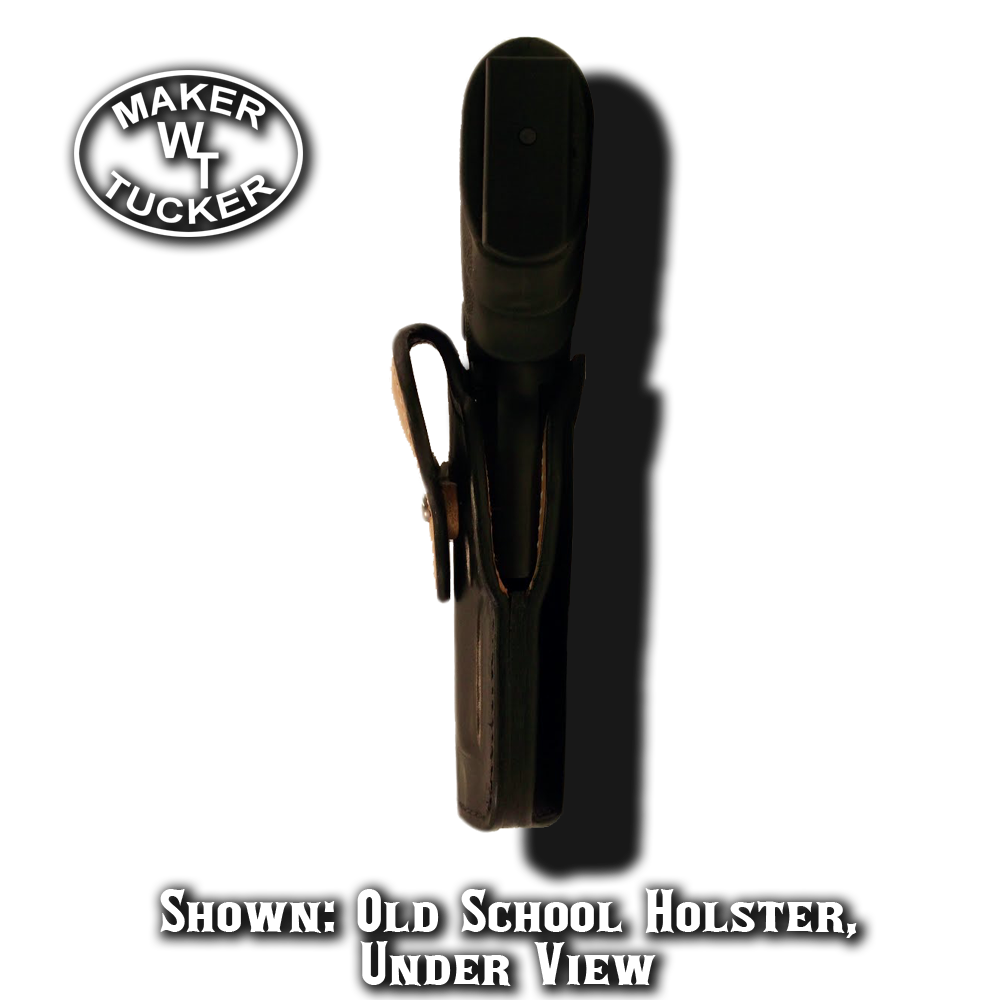 Old School Holster By Tucker Leather