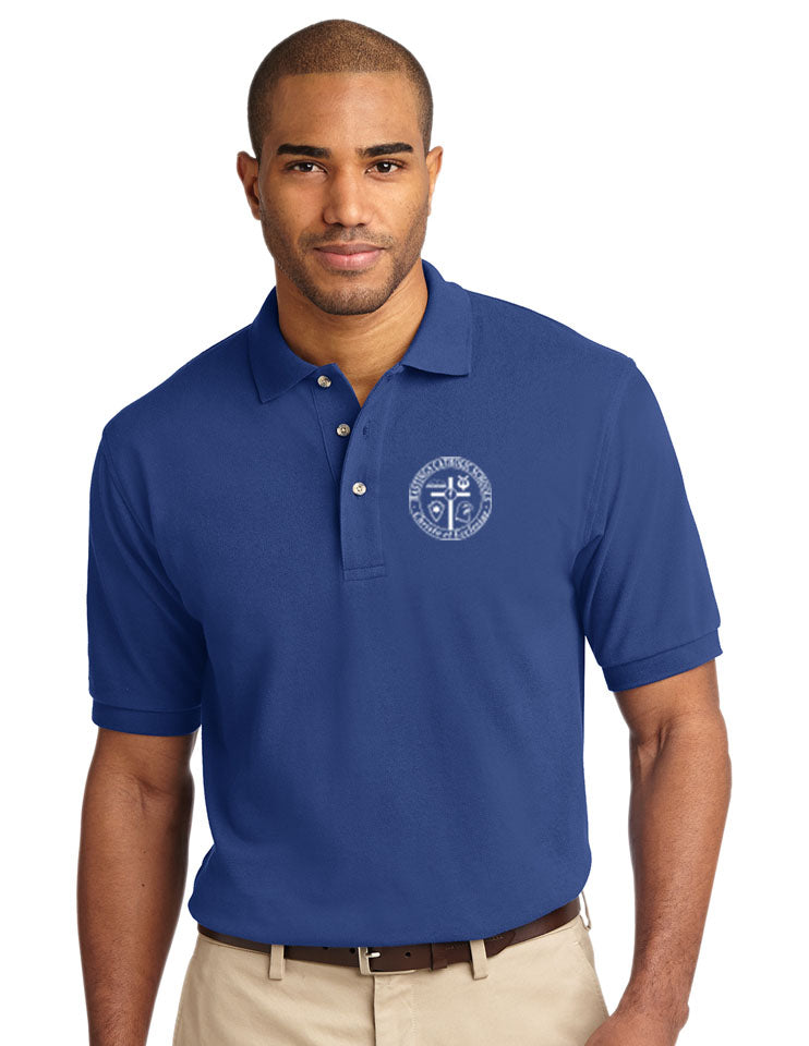 Port Authority® Heavyweight Cotton Pique Polo HCS K420