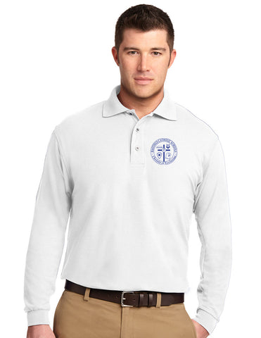 Port Authority® Cotton Feel Long Sleeve Polo K500LS