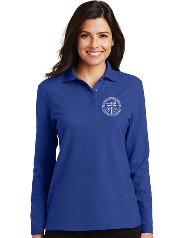 Port Authority Ladies Cotton Feel Long Sleeve Polo L500LS