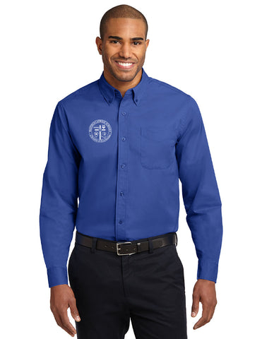 *Faculty Only* Port Authority Long Sleeve Easy Care Shirt S608