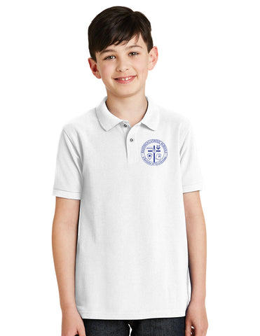 Port Authority® Youth Cotton Feel Polo HCS Y500
