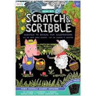 Scratch and Scribble Mini Travel Kit