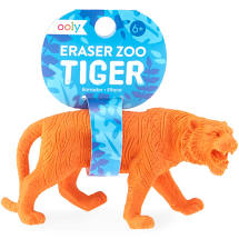 Eraser Zoo - Tiger