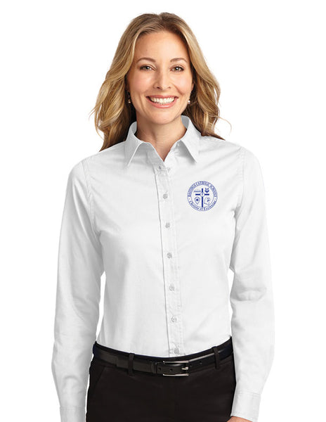 *Faculty Only* Ladies Port Authority Long Sleeve Easy Care Shirt HCS L608