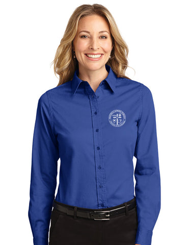 *Faculty Only* Ladies Port Authority Long Sleeve Easy Care Shirt L608