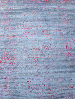 Cracked Up - Grey/Pink | Area Rug - Long Rug Image