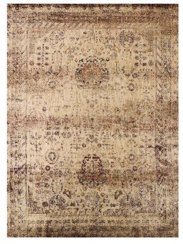 Antiquity - Taupe/Wine, Rug - Jordans Flooring Outlet