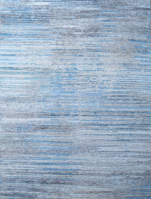 Glacier Park - Natural/Blue | Area Rug - Long Rug Image