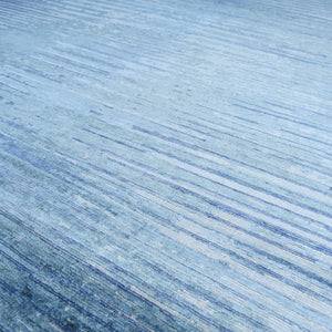 Glacier Park - Natural/Blue | Area Rug - Diagonal Detail Image