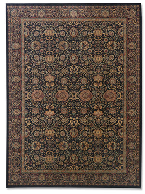Sultano - Black, Rug - Jordans Flooring Outlet
