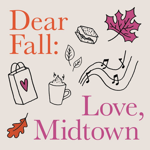 Dear Fall Love City Bird & Nest