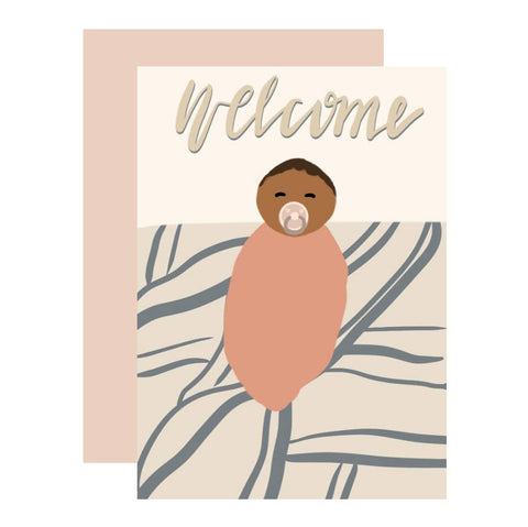 Unisex Baby Greeting Card