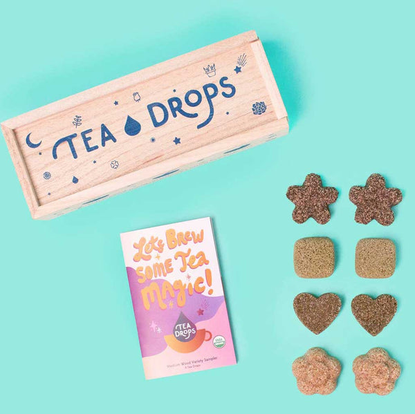 Tea Drops - Medium Wooden Box