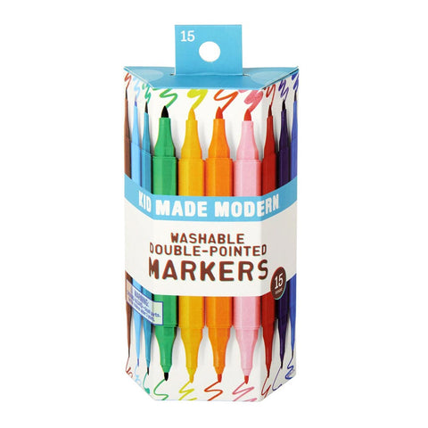 Washable Double Pointed Markers