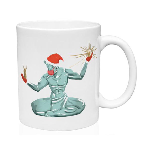 Spirit of Detroit 2020  Holiday Mug