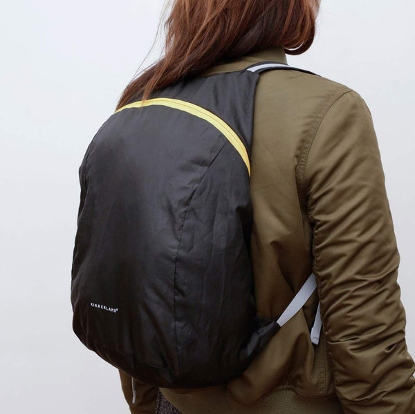 Compact Backpack - Black - City Bird