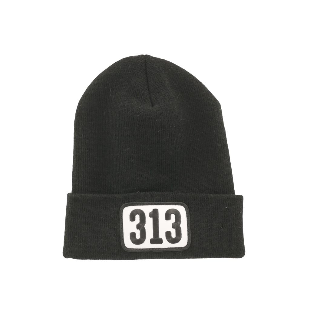 313 Patch Knit Beanie - City Bird