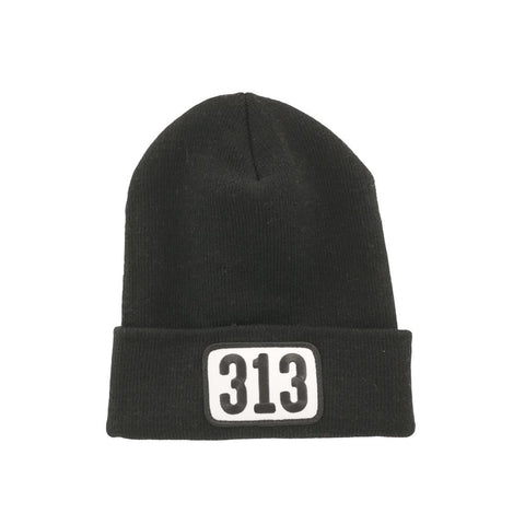313 Patch Knit Cap - City Bird