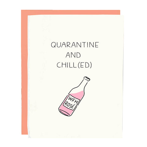 Quarantine and Chill Card - City Bird