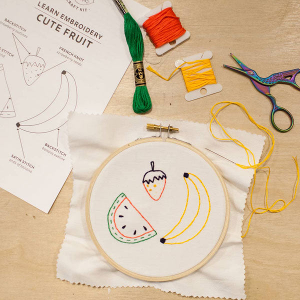 Embroidery Craft Kits - City Bird